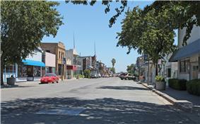 Downtown Isleton, a National Historic Landmark