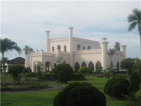 Siak Palace in Riau.