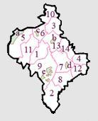 Raions of the Ivano-Frankivsk Oblast