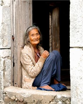 Old Ivatan Woman