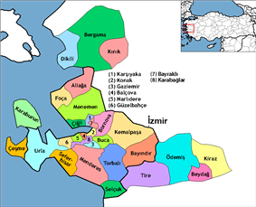 Districts of Izmir