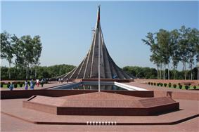 National Memorial in Savar, Bangladesh
