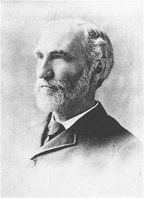 Portrait of Willard Gibbs, circa 1895