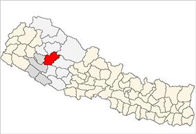 Location of Jajarkot