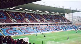 The James Hargreaves stand at Burnley's Turf Moor stadium