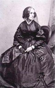 Engraving of Jane Pierce