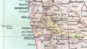 Location of Bhor