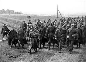 A large group of Polish Prisoners of War