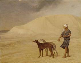 Jean-Léon Gérôme - On the Desert - Walters 3734.jpg
