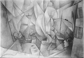 Jean Metzinger, 1911-12, The Harbor, location unknown, reproduced in Du