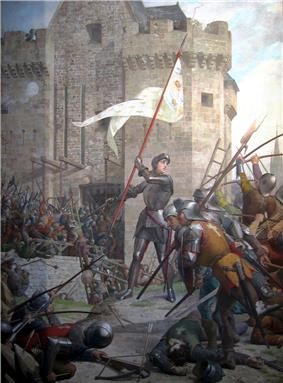 Joan of Arc at the Siege of Orléans by Jules Lenepveu