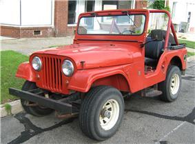 Jeep CJ.