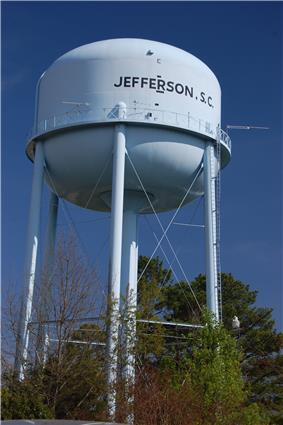 Water tower, 2011