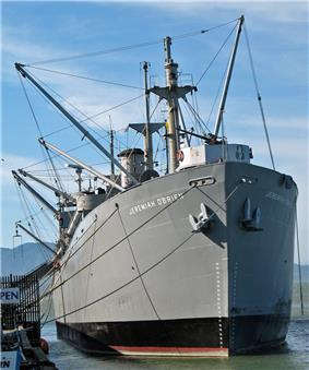 Photograph of the liberty ship SS