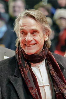 Photo of actor Jeremy Irons at the 2013 Berlin International Film Festival