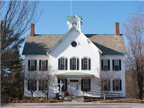 Town hall in Jericho, Vermont