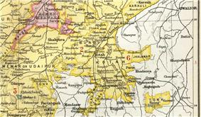 Location of Jhalawar