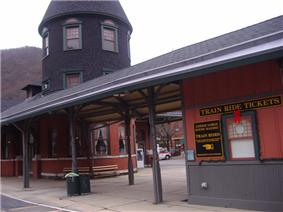 Central Railroad of New Jersey Station