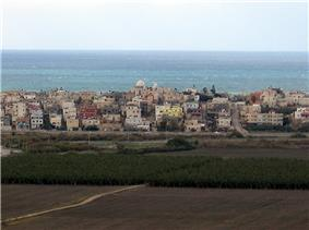View of Jisr az-Zarqa