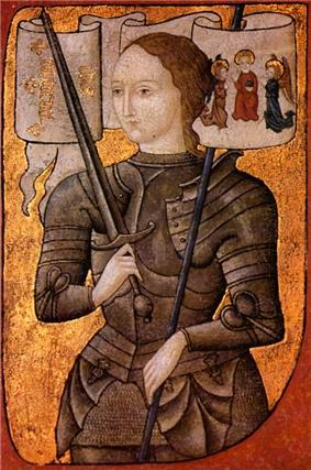 Joan of Arc.