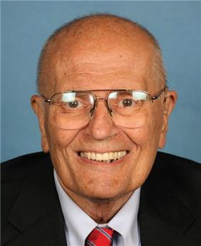 Dingell smiling