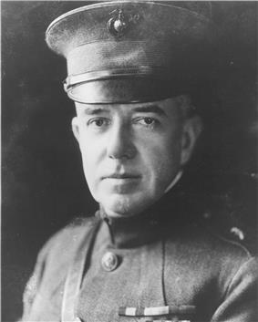 black & white photograph of John H. Russell, Jr.