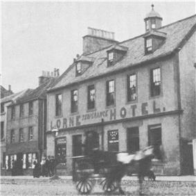 photo of John Muir's birthplace in Dunbar, Scotland