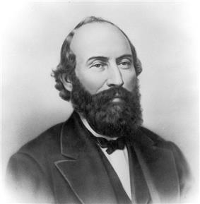 Upper-body portrait of a mid-nineteenth-century man in a suit.