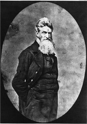 John Brown, before his death in December of 1859.