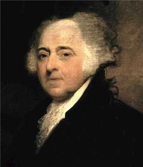 John Adams, second President of the United States