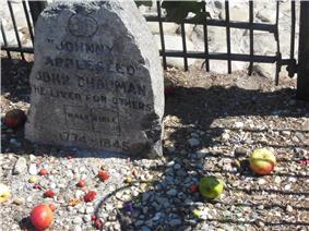 John Chapman's grave