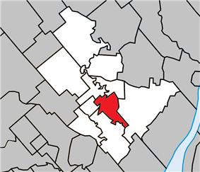 Location within Joliette RCM.