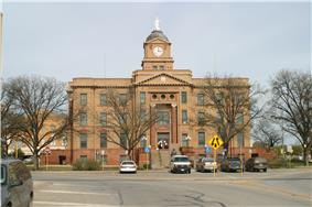 Jones County Courthouse, Anson, Texas