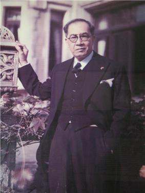 Jose P. Laurel, third President of the Philippines