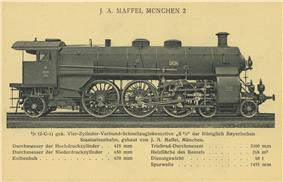 Bavarian S 3/6, Series a to c