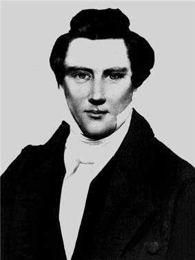 Alleged photograph of Joseph Smith, Jr.