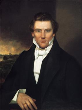 American religious leader and founder of Mormonism and the Latter Day Saint movement Joseph Smith