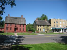 Joseph Webb and Isaac Stevens Houses