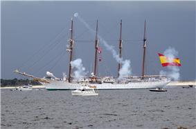Elcano en Pensacola, 2009