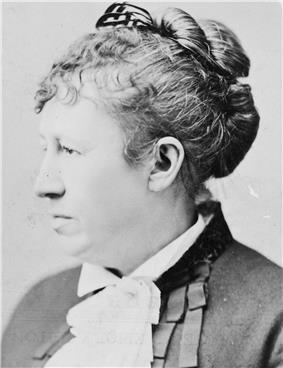 Portrait photograph of Julia Grant