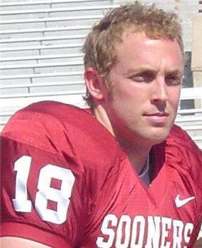 A picture of Jason White while with the Sooners.