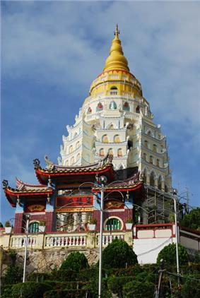 View of Kek Lok Si Temple