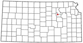 Location of Fort Riley, Kansas