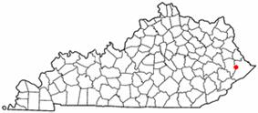 Location of Coal Run Village, Kentucky