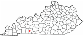 Location in the state of Kentucky