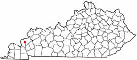 Location of Salem, Kentucky