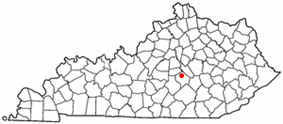 Location of Stanford, Kentucky