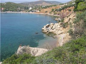 Kaki Vigla beach in Salamina.jpg