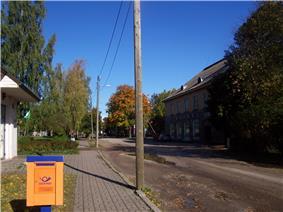 Main street of Kallaste
