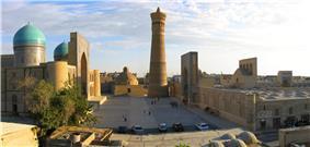 Kok-Gumbaz mosque.